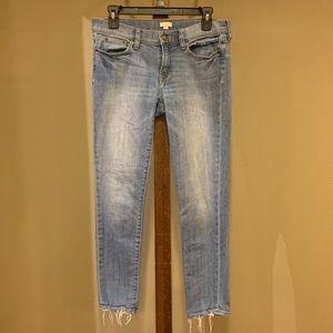 J Crew skinny stretch jeans